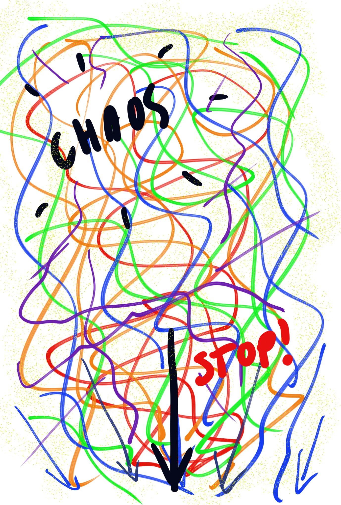 Dagelijkse chaos en overprikkeling zorgen voor stress en uitputting